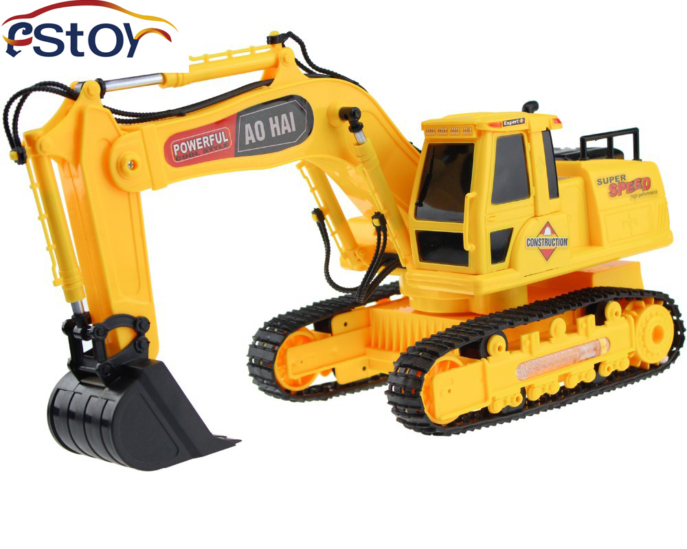 Rc Toys Product : Free shipping new channel high simulation rc digger r c