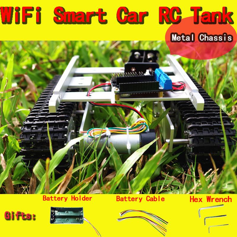 t100 aluminum alloy metal tank track caterpillar car