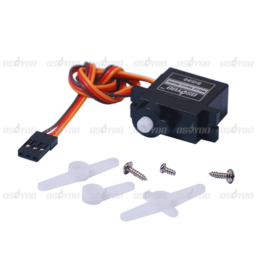 Wholesale sg90 9g micro servo motor for robot 6ch rc for Servo motor for sale
