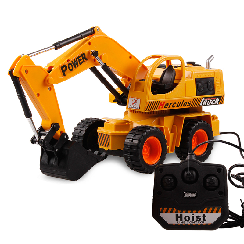 Coolest Electric Toys For Teens : Remote control rc excavator radio controlled machine